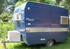 Vintage Aristocrat Lil Loafer Camper Trailer, Cute