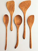 my favorite kitchen tool, the wooden spoon.
