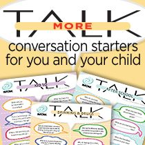 20 Conversation starters with kids