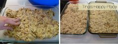 Divide and press dow into two large cake pans for rusk recipe - Tina's Happy Place Healthy Juice Recipes, Healthy Juices, South African Recipes, Ethnic Recipes, Rusk Recipe, Dessert Recipes, Desserts, Cake Pans, Cake Cookies