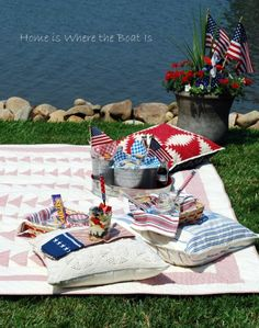 4th of july picnic images