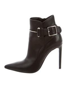 583f90bb7fcc Balenciaga Leather Ankle Boots Luxury Consignment