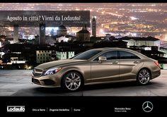 Agosto in città? #LodautoBergamo ti aspetta! Vieni a scoprire la #MercedesBenz che hai sempre sognato presso le sedi di Orio Al Serio e Zingonia-Verdellino!
