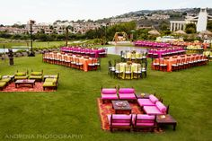 Colorful mendhi sangeet Capri Flowers Weddings & Special Events