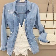 College Outfits, New Outfits, Casual Outfits, Girl Outfits, Cute Outfits, Fashion Outfits, Womens Fashion, Casual Clothes, Summer Shorts Outfits