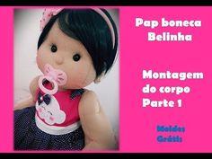 Passo a passo boneca de pano Juju - fazendo sua boneca de pano - linda boneca de pano - YouTube