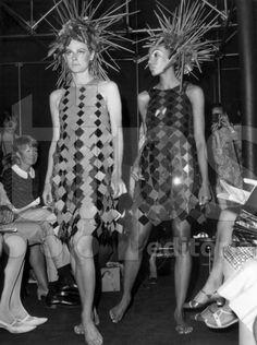 Legendary Model Kellie Wilson for Paco Rabanne, 1966.
