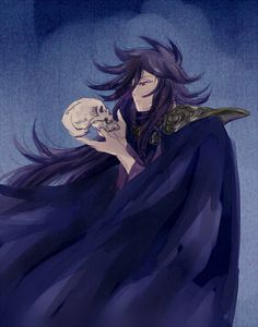 Hades | Saint Seiya | http://www.pixiv.net/member_illust.php?mode=medium&illust_id=52156123