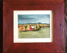 Pastel Artwork, Landscape Drawings, Creative Artwork, Watercolor Paintings, How To Draw Hands, Gallery, Frame, Creative Art, Watercolour Paintings