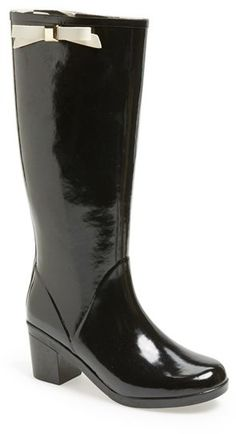 $150, New York Romi Rain Boot by Kate Spade. Sold by Nordstrom. Click for more info: http://lookastic.com/women/shop_items/111141/redirect