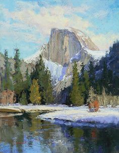 Kim Lordier - Work Zoom: Half Dome in Winter