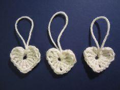 Crochet hearts - easy pattern & learn to crochet tutorial