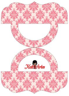 Provencal in Pink: Free Printable Candy Bag Label.