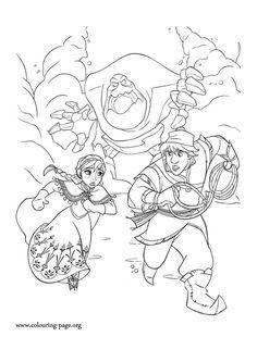Frozen: Imágenes para colorear, para Imprimir Gratis.