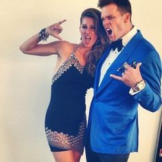 Tom Brady & Gisele Bundchen Embrace The Met Gala's 2013 PUNK Theme