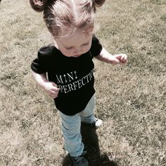 Mini Perfection Tee for your little ones ! Little Ones, Tees, Mini, Bonjour, T Shirts, Tee Shirts, Teas, Shirts