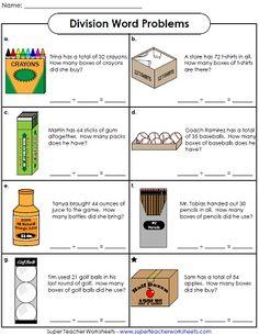 Basic Division Worksheets More