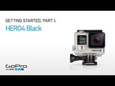 GoPro - HERO4 Black camera - 2x the performance. 4K30, 2.7K60 and 1080p120 video.