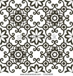decorative arabesque pattern