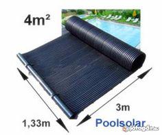 Napkollektor medence fűtő szolár panel 4 m2 Napkollektoros fűtés
