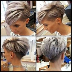Today we have the most stylish 86 Cute Short Pixie Haircuts. We claim that you have never seen such elegant and eye-catching short hairstyles before. Pixie haircut, of course, offers a lot of options for the hair of the ladies'… Continue Reading → Short Hair Undercut, Short Pixie Haircuts, Short Hairstyles For Women, Haircut Short, Pixie Cut With Undercut, Pixie Haircut For Round Faces, Hairstyles Haircuts, Pixie Haircut For Thick Hair, Short Hair Cuts For Women Over 40