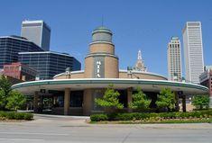 Even our bus station is beautiful art deco! Tulsa, Oklahoma - Travel Photos by Galen R Frysinger, Sheboygan, Wisconsin