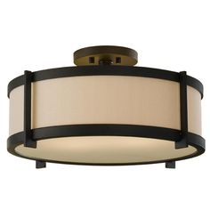 Found it at Wayfair Supply - Strope 2 Light Semi Flush Mount