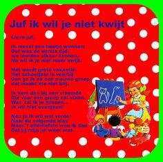 gedicht voor juf