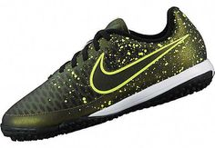 differently deb5e 4a3e4 Nike Kids Magista Onda TF Soccer Shoes - Dark Citron  amp  Black. At www