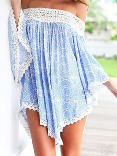 #summer #fashion / off the shoulder