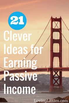 Passive income guide-- Looking to generate continuing income? Check out these 21 brilliant passive income ideas for inspiration. Diversify your income and grow your wealth!