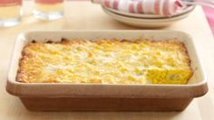 Linda Evans' Dynasty Corn Pudding. Our new favorite comfortcasserole.