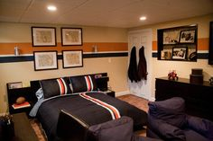 Teen boy's bedroom - contemporary - kids - philadelphia - Fray Interiors