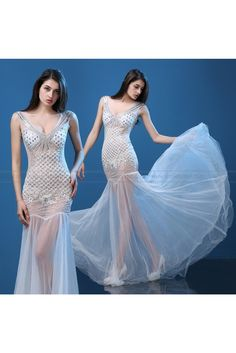 2016 New Luxiong V-neck Dress Party Dress Fishtail Dress Sexy Nightclub Bar  Dress db726c0e7cab