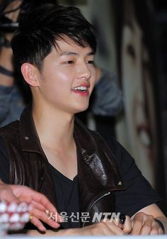 Song Joong Ki with a badass hairstyle