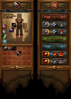 rpg competition interface by wanderer-arts.deviantart.com on @DeviantArt