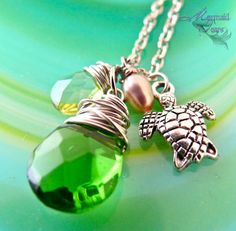 Sea Turtle Necklace from Hawaii Hawaiian Honu Jewelry