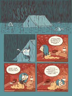 Hilda and The Troll - Luke Pearson - Illustration and Comics