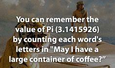 remember the Pi