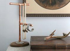 Joyero DIY Tubos de cobre