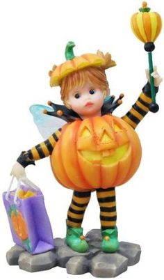 My Little Kitchen Fairies Smiley Halloween Fairie Figurine  by My Little Kitchen Fairies  Be the first to review this item | Like (0)  Price: $24.99  Sale: $22.49