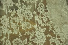 Bridal Alencon lace fabric for wedding  bridal by lacetime on Etsy