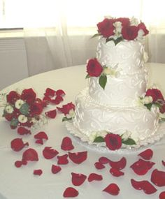 1000 Images About Red Rose Wedding On Pinterest Red
