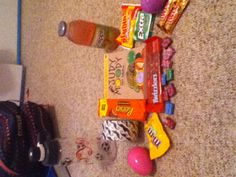 What was in my Easter basket.