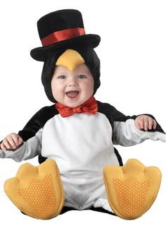 Cute Little Baby Penguin Infant Toddler  Halloween Costume
