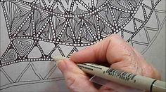 Drifts Tangle Pattern Lesson #146