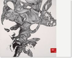 Creative Moreno, Gabriel, Logo, Illustration, and Drawing image ideas & inspiration on Designspiration Gabriel, Art And Illustration, Flower Illustrations, Watercolor Illustration, Arte Linear, Inspiration Artistique, Spanish Artists, Art Graphique, Art Design