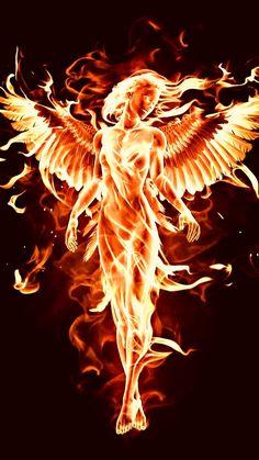 Fantasy Art Women, Dark Fantasy Art, Fantasy Girl, Fantasy Artwork, Transférer Des Photos, Phoenix Artwork, Phoenix Tattoo Design, Phoenix Tattoos, Heaven Art