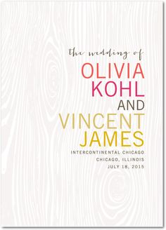 Idyllic Inscription - Wedding Paper Divas