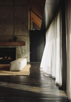 Natural light and its shadow. Forest House by NZ-based Fearon Hay Architects